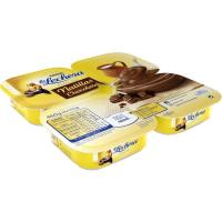 Natillas de chocolate LA LECHERA, pack 4x115 g