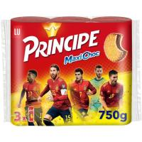 Galleta Maxichoc PRÍNCIPE, paquete 750 g
