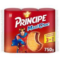 Galleta Maxichoc PRÍNCIPE, pack 3x250 g