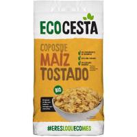 Copos de maíz tostado bio ECOCESTA, bolsa 400 g