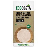 Harina de espelta integral bio ECOCESTA, bolsa 500 g