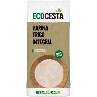 Harina de trigo integral bio ECOCESTA, bolsa 500 g