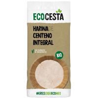 Harina de centeno integral bio ECOCESTA, bolsa 500 g