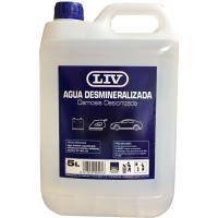 Agua desmineralizada LIV, envase 5l