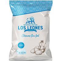 Patata frita sin sal LOS LEONES, bolsa 140 g