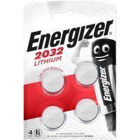 Pila especial botón 2032 NL4 ENERGIZER, pack 4 uds
