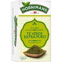 Té verde puro HORNIMANS, caja 20 sobres