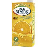 Néctar de naranja DON SIMON Disfruta, brik 2 litros