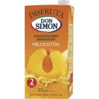 Néctar de melocotón DON SIMON Disfruta, brik 2 litros