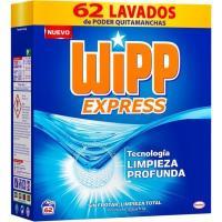 Detergente en polvo WIPP, maleta 62 dosis