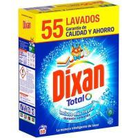 Detergente en polvo DIXAN, maleta 55 dosis