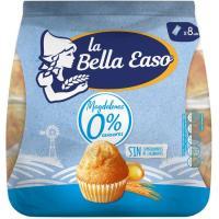 Magdalena 0% azúcar LA BELLA EASO, 8 unid., paquete 232 g