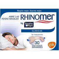 Tira nasal clásica BREATHE RIGHT, caja 30 unid.