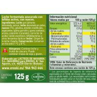 Biactive de nuez-avellana EROSKI, pack 4x125 g
