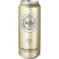 Cerveza WARSTEINER, lata 50 cl