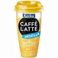 Caffe Latte vainilla KAIKU, vaso 230 ml