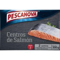 Centros de salmón PESCANOVA, caja 300 g
