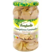 Champiñon laminado extra grueso BONDUELLE, frasco 170 g