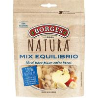 Cocktail de frutos secos crudos BORGES Natura, bolsa 130 g