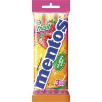 Caramelos de fruta MENTOS, pack 3x38 g