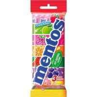 Caramelos Rainbow MENTOS, pack 3x38 g