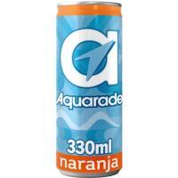 Refresco isotónico de naranja AQUARADE, lata 33 cl