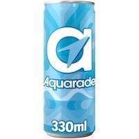 Refresco isotónico de limón AQUARADE, lata 33 cl