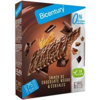 Barrita de choco negro sin azúcar BICENTURY Sarialis, caja 102 g