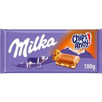 Chocolate con Chips Ahoy MILKA, tableta 100 g