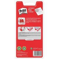 Cinta correctora blanca de 4,2mm Roller Compact PRITT, Pack 2 uds