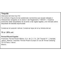 Tequila de chocolate OLMECA, botella 70 cl