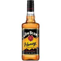 Whisky Honey JIM BEAM, botella 70 cl