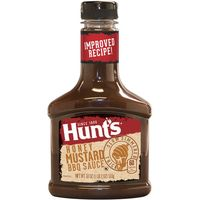Salsa Bbq Honey HUNTS, bote 510 g
