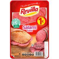 Salami extra REVILLA, bandeja 70 g