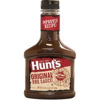 Salsa BBQ original HUNTS, bote 510 g
