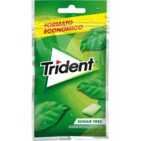 Chicle de hierbabuena sin azúcar TRIDENT, paquete 43,5 g