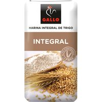 Harina integral GALLO, paquete 1 kg
