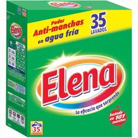 Detergente en polvo ELENA, maleta 35 dosis