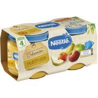Potito de selección multifrutas NESTLÉ Naturnes, pack 2x200 g