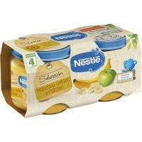 Potito de manzana-plátano NESTLÉ Naturnes, pack 2x200 g