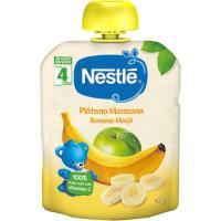 Bolsita de plátano-manzana NESTLÉ, doypack 90 g