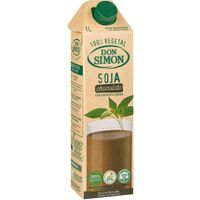 Batido de chocolate-soja DON SIMON, brik 1 litro