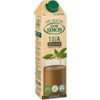 Batido de chocolate-soja DON SIMON, brik 1 litro
