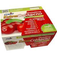 Gelatina de arándanos colágeno YELLIFRUT, pack 4x100 g