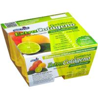Gelatina de cítricos colágeno YELLIFRUT, pack 4x110 g