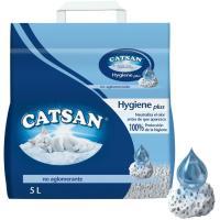 Arena para gatos CATSAN, saco 10 litros