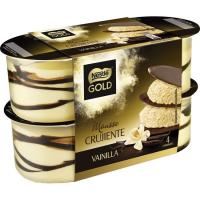 Mousse de vainilla NESTLÉ Gold, pack 4x57 g