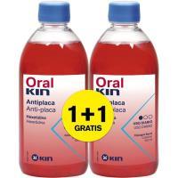 Enjuague bucal ORALKIN, pack 2x500 ml