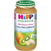Potito biológico de pera-kiwi-plátano HIPP, tarro 250 g