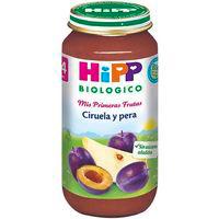 Potito biológico de ciruela-pera HIPP, tarro 250 g